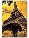 Tableau TOUR EIFFEL 7 imprimé sur toile - par Feeby
