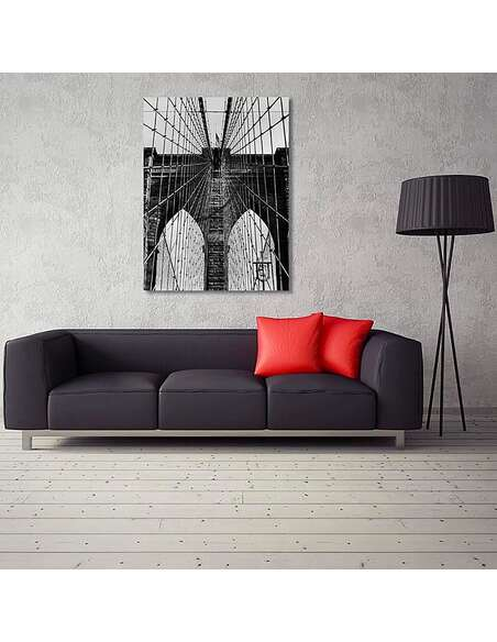 Tableau PONT BROOKLYN imprimé sur toile - par Feeby