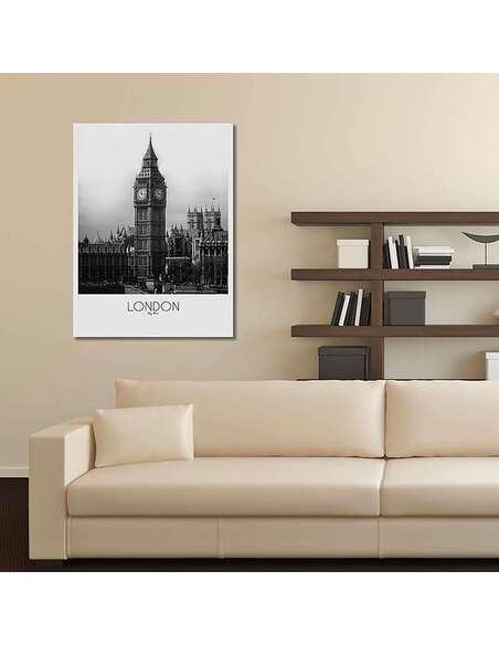 Tableau LONDRES imprimé sur toile - par Feeby