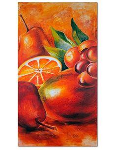Tableau FRUITS FRAIS 2 imprimé sur toile - par Feeby