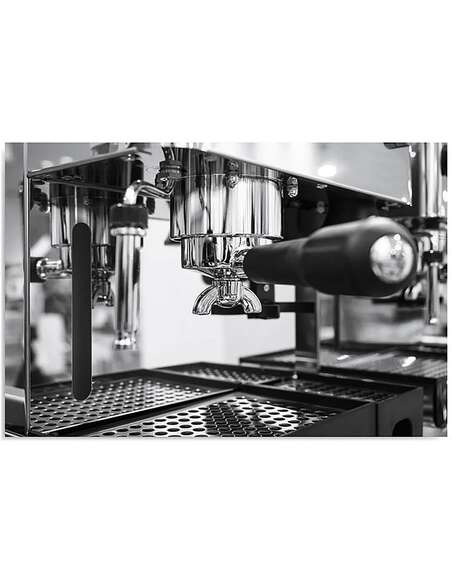 Tableau CAFÉ NOIR ET BLANC imprimé sur toile - par Feeby