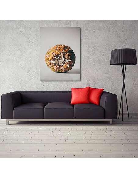 Tableau FRUITS EXOTIQUES imprimé sur toile - par Feeby