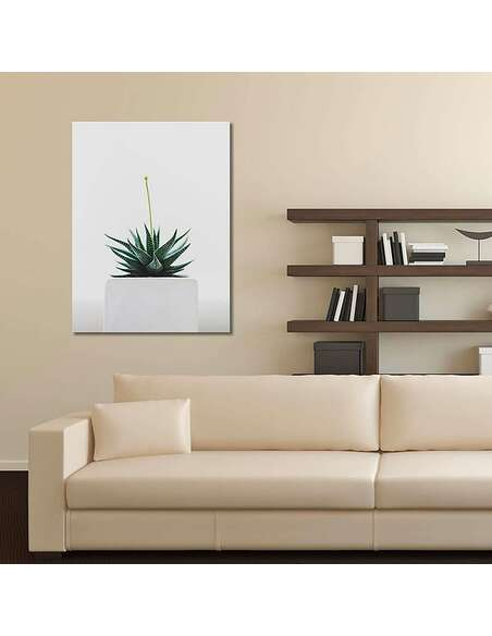 Tableau PLANT imprimé sur toile - par Feeby