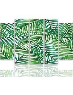Composition de 5 tableaux DES BRINDILLES imprimé sur toile - par Feeby