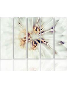 Composition de 5 tableaux LE MAÏS EN ÉPI imprimé sur toile - par Feeby