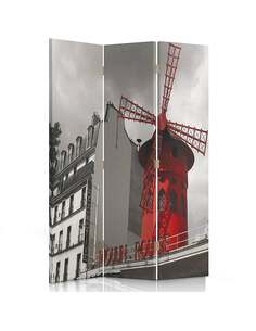 Paravent 3 volets MOULIN ROUGE - par Feeby