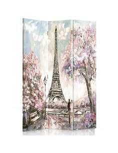 Paravent 3 volets PRINTEMPS À PARIS - par Feeby