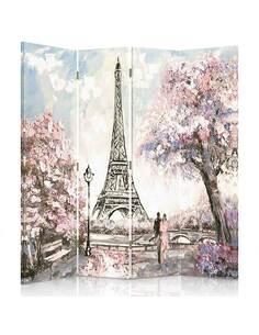 Paravent 4 volets PRINTEMPS À PARIS - par Feeby