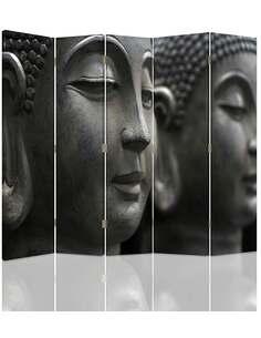 Paravent 5 volets BUDDA 7 - par Feeby