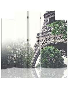Paravent 5 volets FRAGMENT DE LA TOUR EIFFEL - par Feeby