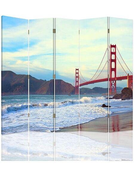 Paravent 5 volets GOLDEN GATE BRIDGE - par Feeby