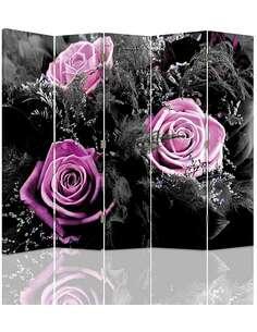 Paravent 5 volets ROSES - par Feeby