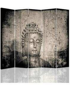 Paravent 5 volets IMAGE DE BOUDDHA - par Feeby