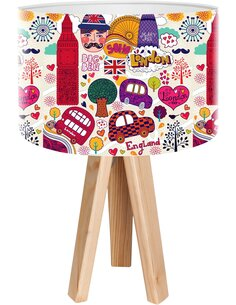 Lampe de chevet Kids Multicolore