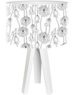 Lampe de chevet Bothanica Gris
