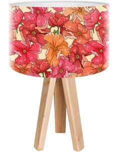 Lampe de chevet Bothanica Rouge