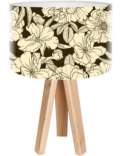 Lampe de chevet Bothanica Noir