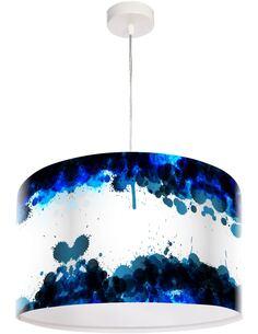 Suspension Magic of color Bleu