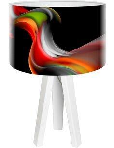 Lampe de chevet Magic of color Multicolore