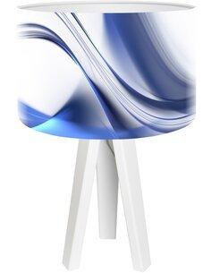 Lampe de chevet Magic of color Bleu