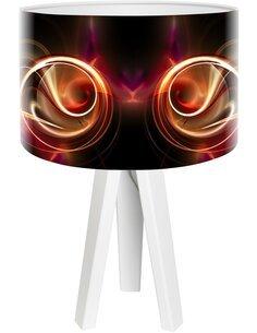 Lampe de chevet Magic of color Noir