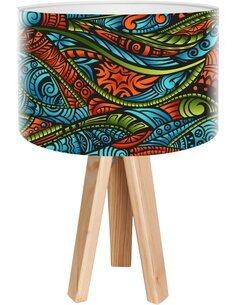 Lampe de chevet Ethno Multicolore