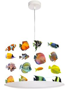 Suspension Bothanica Multicolore