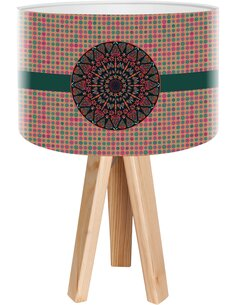 Lampe de chevet Stamps Multicolore