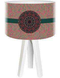Lampe de chevet Stamps Multicolore