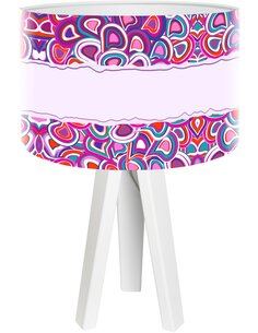Lampe de chevet Stamps Violet