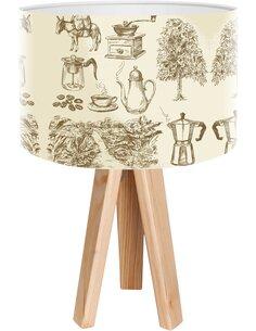 Lampe de chevet Bothanica Beige