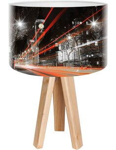 Lampe de chevet City Noir