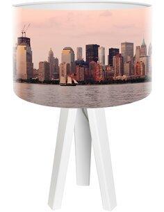 Lampe de chevet City Multicolore