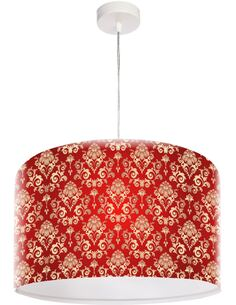 Suspension Stamps Rouge