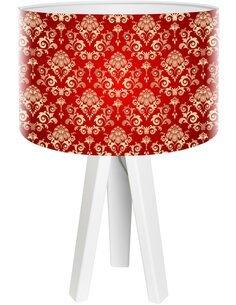 Lampe de chevet Stamps Rouge