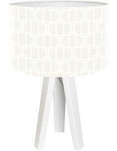 Lampe de chevet Stamps Blanc