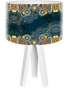 Lampe de chevet Yoga Multicolore
