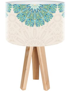Lampe de chevet Yoga Bleu