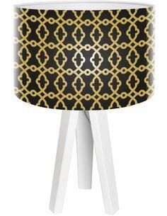Lampe de chevet Glamour Noir