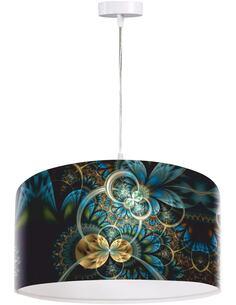 Suspension Mandala Multicolore