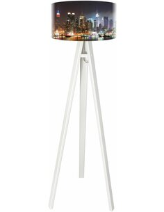 Lampadaire City Multicolore
