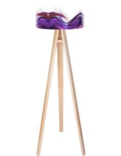 Lampadaire Magic of color Violet