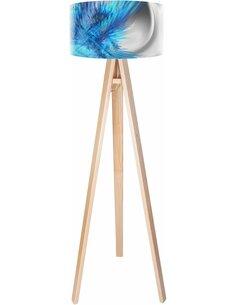 Lampadaire Magic of color Bleu