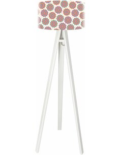 Lampadaire Stamps Rouge