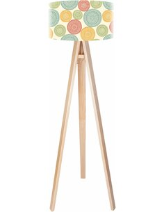 Lampadaire Stamps Multicolore