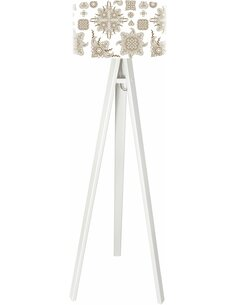 Lampadaire Yoga Marron