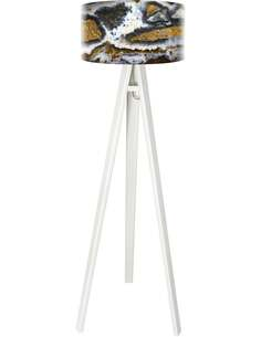 Lampadaire Natural Multicolore