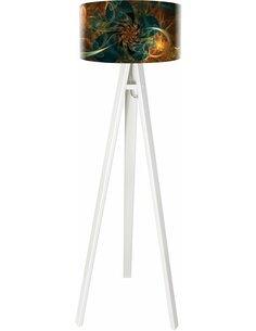 Lampadaire Mandala Multicolore