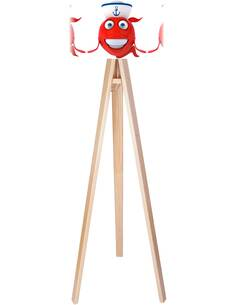 Lampadaire kids Rouge