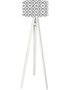 Lampadaire stamps Gris